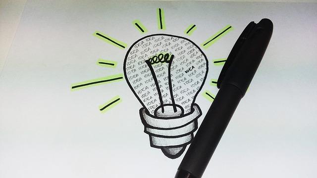 アイデアが、溢れてくる方法とは?