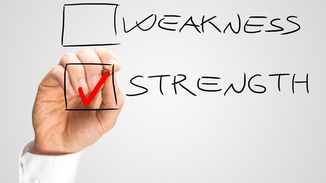 weaknesss-strength